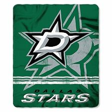 "New NHL Dallas Stars Large Soft Fleece Throw Blanket 50"" X 60"""