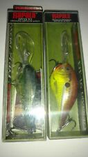 Rapala DT 16 NIB Baby Bass & Hot Mustard 3/4oz Great Colors! Free Ship!