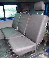 VW Transporter T5 Kombi Crew Cab Genuine Fit Waterproof Heavy Duty Seat Covers
