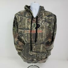 Mossy Oak Adults Orange Huntin Pull over Hoodies Sizes Small XL new with tags