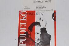 """PUDELKO -Weinen / Dieses Jahr wird einfach.. 7"""" 45 mit Product Facts Promo-Flyer"""
