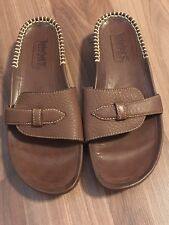 f355df6e409a1 NWOB Timberland Smart Comfort System Women s Leather Sandals Size 7 Brown