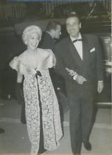 Martine Carol et Christian-Jaque Vintage silver print Tirage argentique  13x