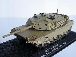 M1A1HA ABRAMS TANK IRAQ '03 1/72 SIZE ARMY MODEL SAND COLOUR EXAMPLE T3412Z(=)