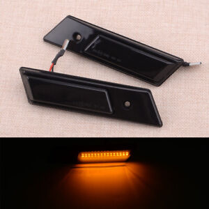 Pair Side Turn Signal Lamp Side Marker Light Fit for BMW 3 5 7 Serie E36 E34 E32