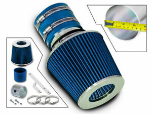 For 00-04 Spectra 1.8 L4 /05-09 Spectra 5 2.0 L4 Ram Air Intake Kit+ BLUE Filter