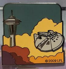 Star Wars Millennium Falcon Bespin Space Needle Pin Seattle Club Charity Solo
