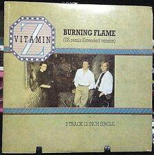 VITAMIN Z Burning Flame Maxi-Single NM//EX Condition