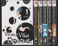 WORLD WAR DEMONS tomes 1 à 6 Uru Okabe SERIE Manga shonen