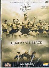 IL MITI HALL BLACK - RUGBY MONDIALE - DVD nuovo - edizione GAZZETTA DELLO SPORT