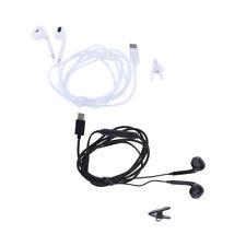 USB Type C Earphones Digital Headphones Stereo Bass Noise Cancelling, 2pcs