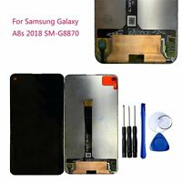 Original For Samsung Galaxy A8S 2018 G8870 LCD Touch Screen Digitizer Assembly