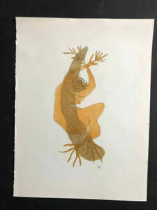 Henri Laurens Lithograph  Signed in the plate  Teriade 1952
