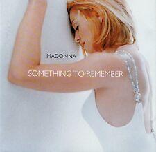 Madonna: Something To Remember / CD - Nuevo