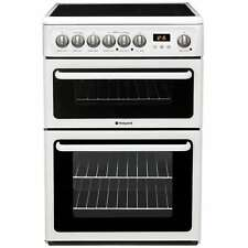 Hotpoint Newstyle HAE60PS 60cm Ceramic Cooker In White