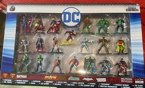 "JADA Toys DC COMICS - 1.5"" Nano Metalfigs Die-Cast Boxed Figure Set Of 20-NEW!"