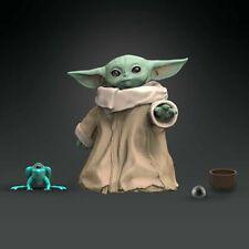 """Bébé Yoda The Enfant """" Mandalorien Disney + Figurine Star Wars Série Noire en"""