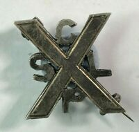 Early Scottish Childrens League Of Pity White Metal Badge Brooch
