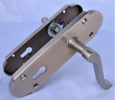 Epsom Internal Door Handles Lock Sets Satin Scroll Door Handles & Sash Lock D1