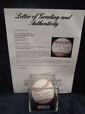 Dick Motta (NBA Coach) Autographed OML (Selig) Baseball – Graded PSA 10