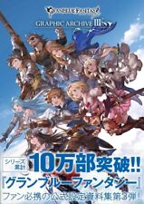 DHL/EMS Granblue Fantasy Graphic Archive III 3 Japan Game Illustrations Art Book