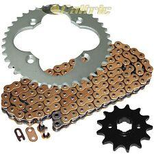 Gold O-Ring Drive Chain & Sprocket Kit Fits HONDA TRX400EX TRX400X 2005-2014