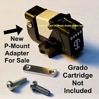Shure M92E + Grado Stanton PMount Adapter - 1/2 inch Cartridge Headshell sku6014