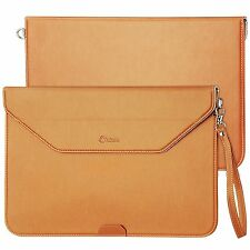 Apple iPad Macbook Pro 13' Case Waterproof Leather Bag Sleeve Strap Briefcase