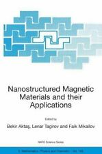 Nanostructured Magnetic Materials and Their Applications 143 (2004, Hardcover)