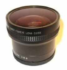 0.25x Fisheye Lens fit Nikon D3000 D3100 D3200 D5200 D5100 for 52mm size thread
