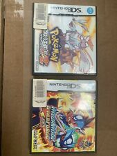 Lot Of Two Nintento DS Megaman Starforce & Pokeman White 2