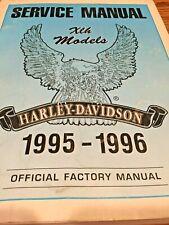 Harley-Davidson XLH Models Service Manuals 1995-1996 # 99484-96