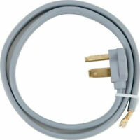 Certified Appliance 30-Amp 3-Prong Dryer Power Cord - 10 Ft.