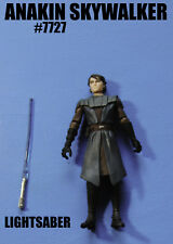 Star Wars The Clone Wars Jedi Master Anakin Skywalker Action Figure!