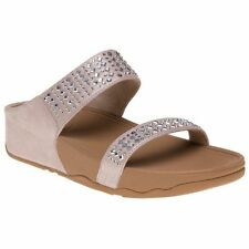 FitFlop Slip On, Mules Suede Shoes for Women