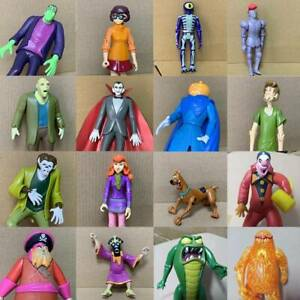 """5"""" Scooby-doo WolfMan Zombie Skeleton Creeper Monster 50th anniversary Figures"""