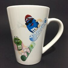 Coffee Mug Cup M&M's Candy Snowboarding Collectible