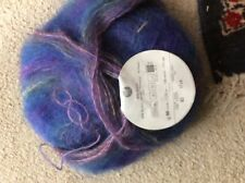 Vintage Filatura di Crosa Mohair Multi 1 x 50gms colour 83 blue/purple multi