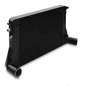 CAST ALLOY BLACK FRONT MOUNT INTERCOOLER CORE FMIC FOR AUDI A3 S3 8P 1.6 2.0