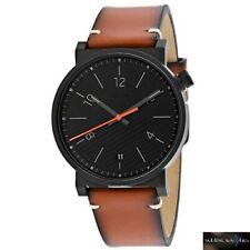 Fossil Gents Barstow Brown Leather Strap Back Dial FS5507 Mens Watch RRP £129