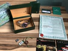 ROLEX 16710 PEPSI GMT MASTER II 2003 FULL SET BOX PAPERS SWING TAGS BOOKS BOXES!