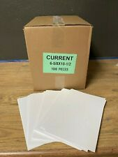 Case - 1000 Current - Modern Age Comic Book Backing Boards - White