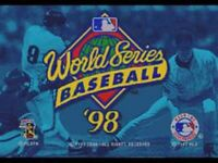 World Series Baseball 98 - Sega Genesis Game