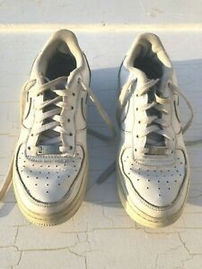 NIKE AIR FORCE 1 LOW WHITE Women's size 6.5 (5Y)