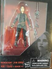 Star Wars Rogue One Sergeant Jyn Erso The Black Series Action Figure - NEW