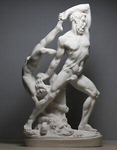 Hercules throwing Lichas Greek Roman God Statue Sculpture Canova Museum Copy