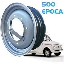 Set 4 Cerchi in ferro per  FIAT 500 epoca F / L AUTO EPOCA