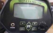 METAL DETECTOR MONETA MD 250 GARANZIA OMAGGIO GARRETT CAPPELLINO AT MAX  PRO NEW