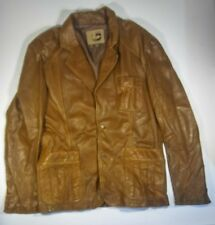 Guess mens leather jacket size L