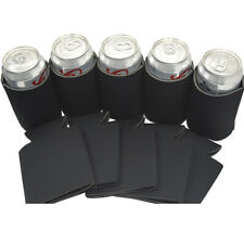 Neoprene Cooling Beer Can Cover Drinks Bottle Tin Cooler Sleeve Holder Black